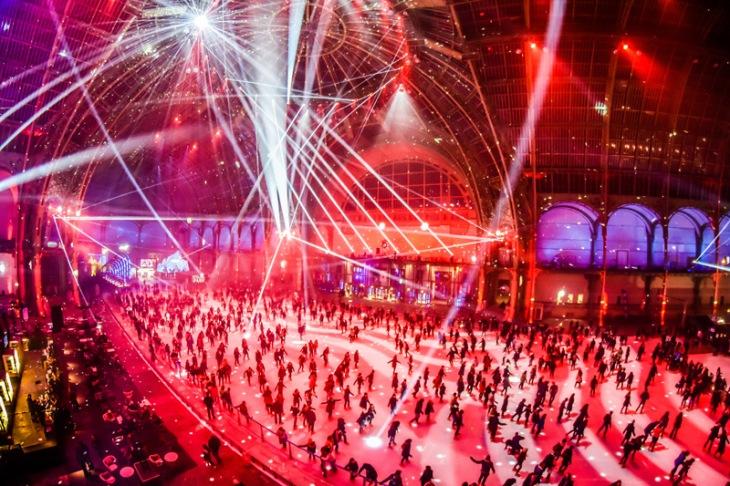 Patinoire du Grand Palais - Paris - Le Grand Palais des glaces - Dj set