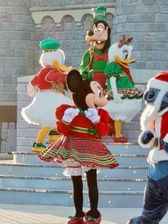 Spectacle de Noel - Christmas - Parc Disneyland Paris