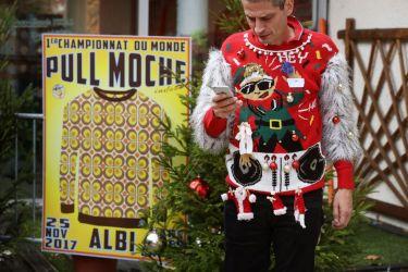 Concours du pull le plus moche de Noël à Albi - 2017