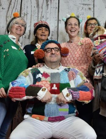 Concours du pull le plus moche de Noël à Albi