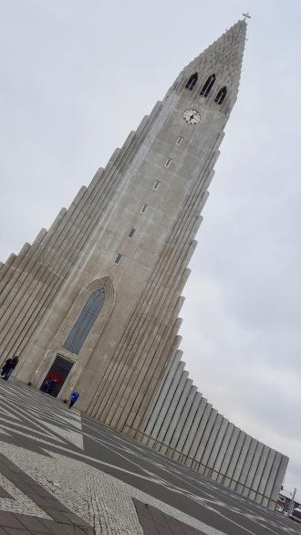 La Hallgrímskirkja - Église luthérienne située à Reykjavik en Islande
