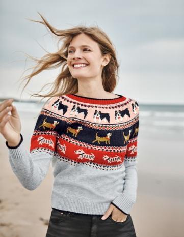 Mode Femme - Pull de Noël motif jacquard