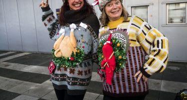 Concours du pull le plus moche de Noël