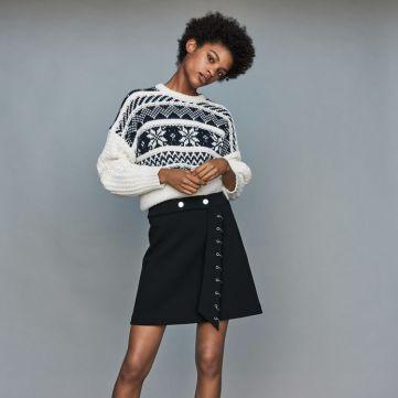 Pull mode femme Noel - Maje